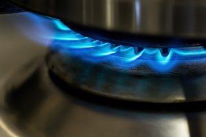 安全装置によって鍋を振ると火が消える